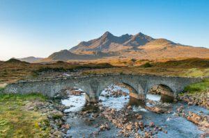 Brücke auf Skye